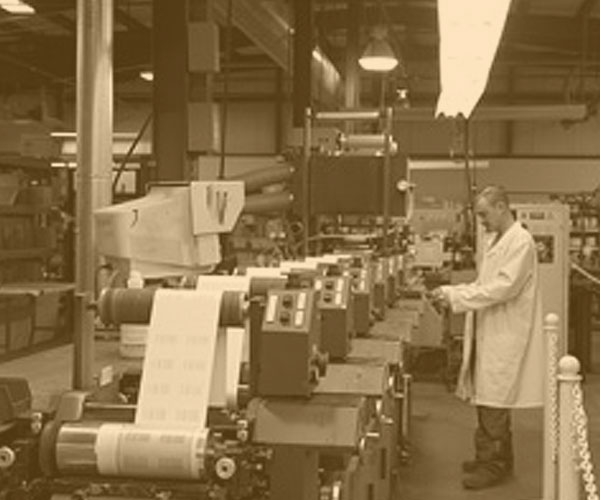 the history of Royal Label Printing Company Boston MA