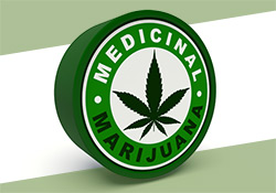 medical marijuana can label