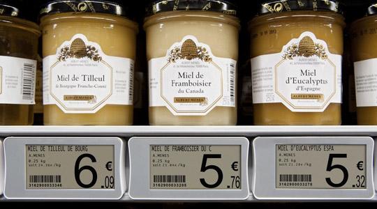 retail consumer product label