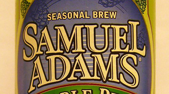 sam adams beer label